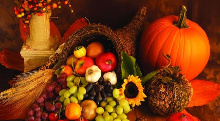 Thanksgiving artwork via Pinehurst Resort.
