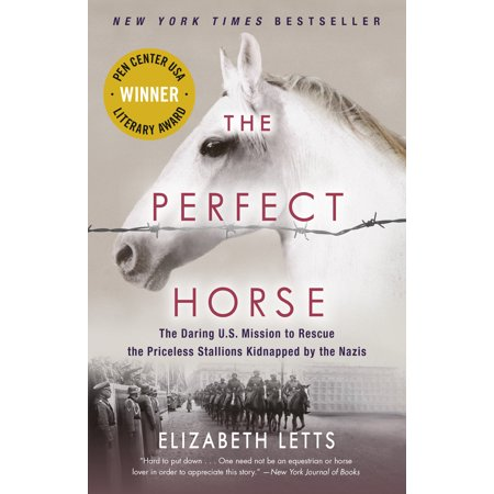 The Perfect Horse, a book by Elizabeth Letts.
