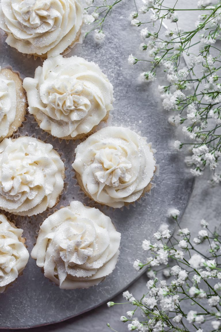 Vegan 8 Vanilla Cupcakes by Brandi Doming.
