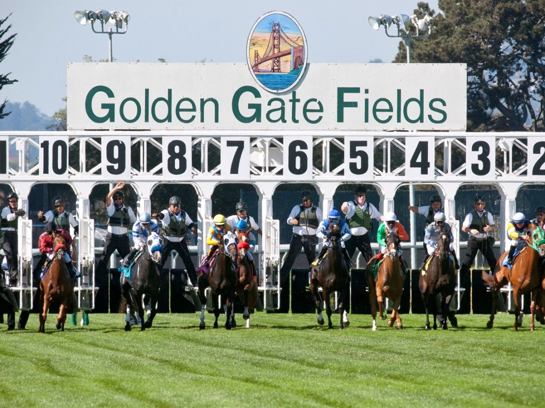 Golden Gate Fields. Photographer Unknown.