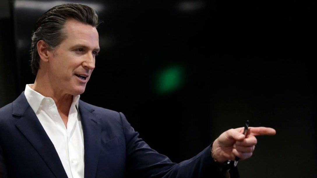 California Gavin Newsom