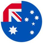 Australian flag icon.