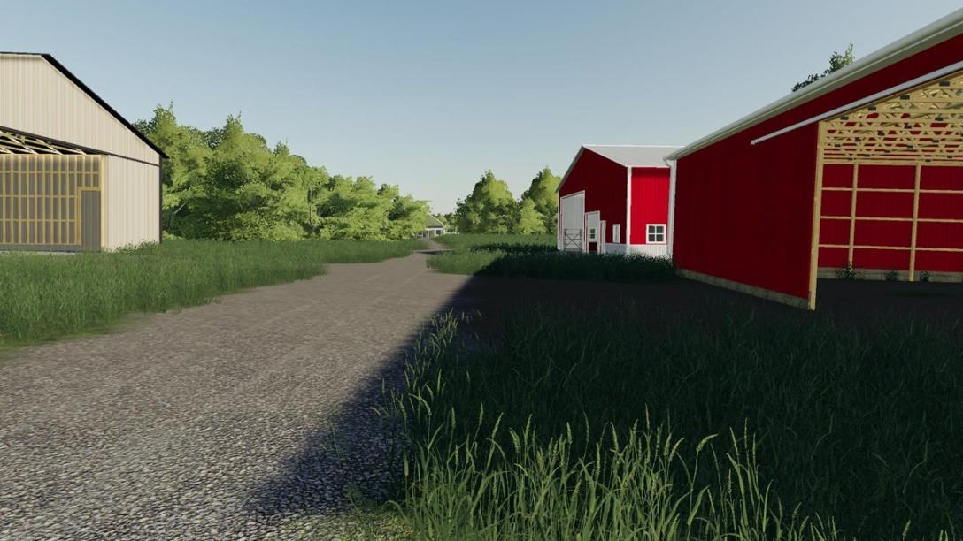 Barns, Hardin County, Kentucky.