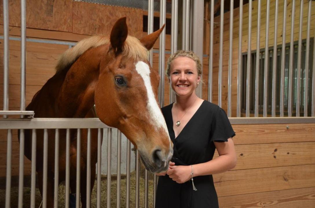 Chan Carman. Equine Therapist. Aiken SC News Photo.