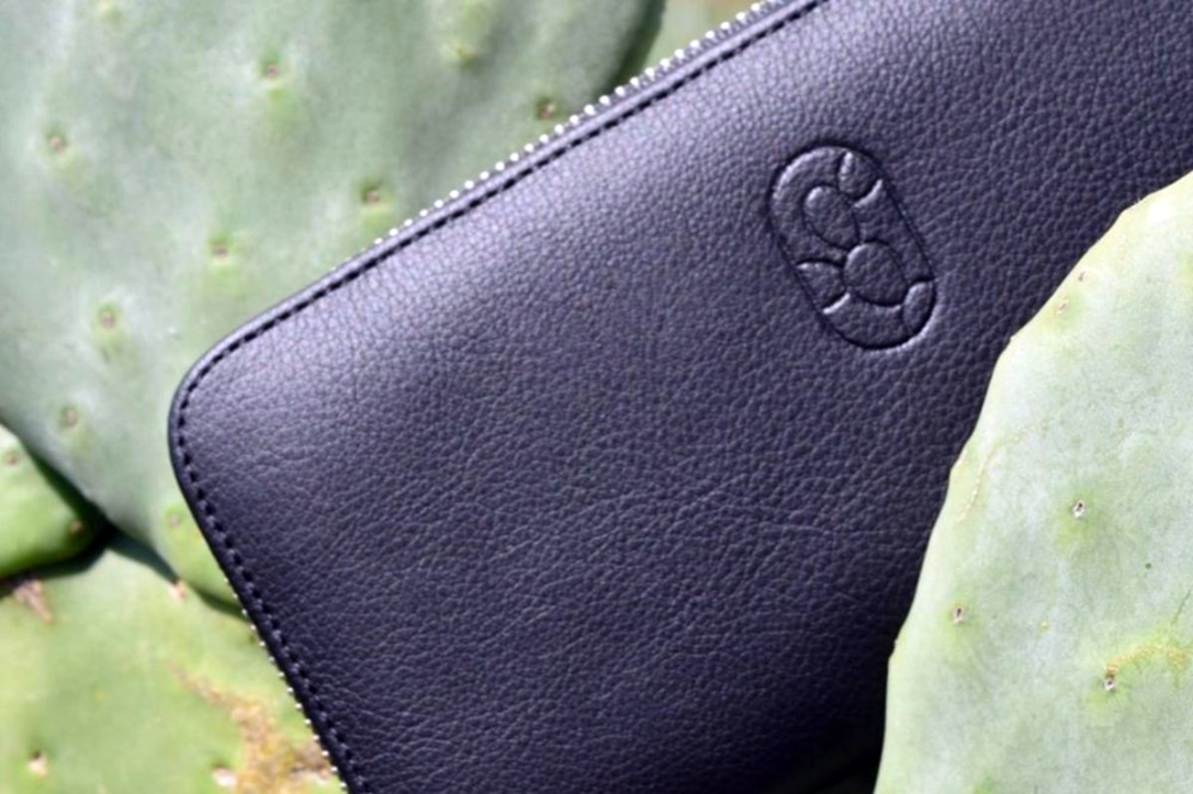 Vegan leather made from cactus by Mexican company DESSERTO.