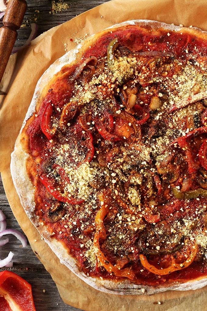 Minimalist Baker Pizza. Dana Shultz.