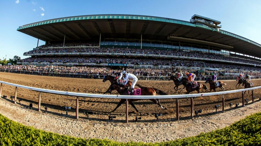 Belmont Stakes. Belmont Park. ©2014 Eclipse Sportswire.