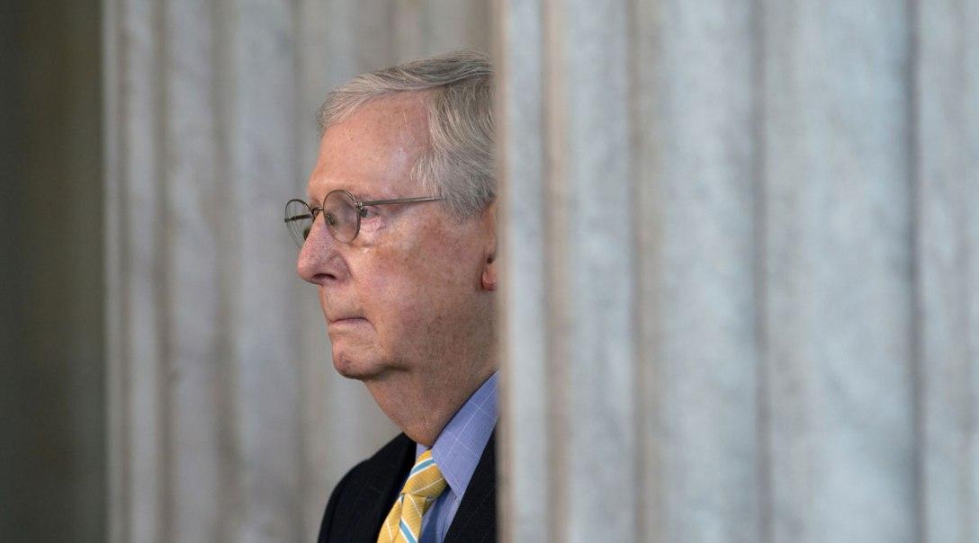 Sen. Mitch McConnell (R-KY). ©2020 Bloomberg Finance LP. Image by Stefani Reynolds.